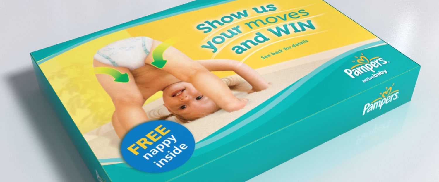 Pampers – Box leaflet
