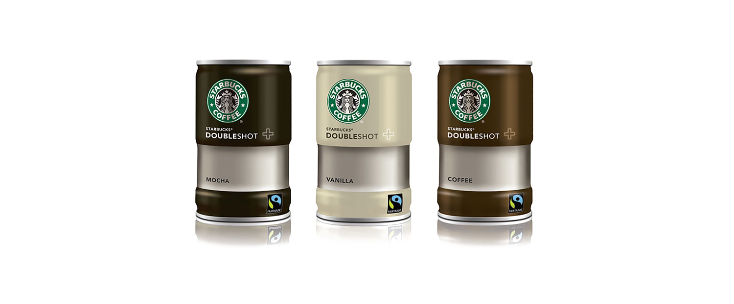 Starbucks – Shot can design