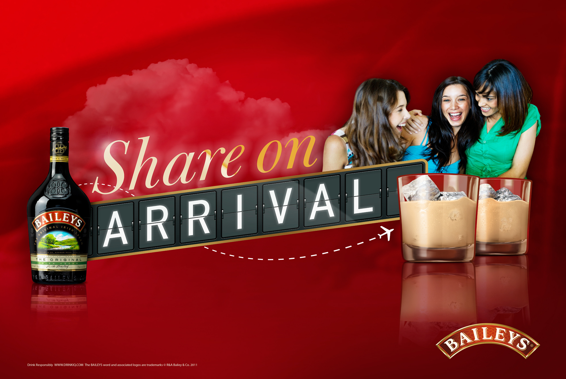 Baileys – Originals, Share on arrival toolkit