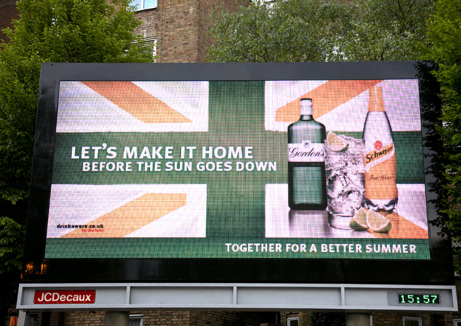 Diageo & Shweppes – Together for a better summer