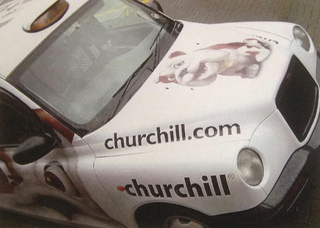 Churchill – Taxi livery