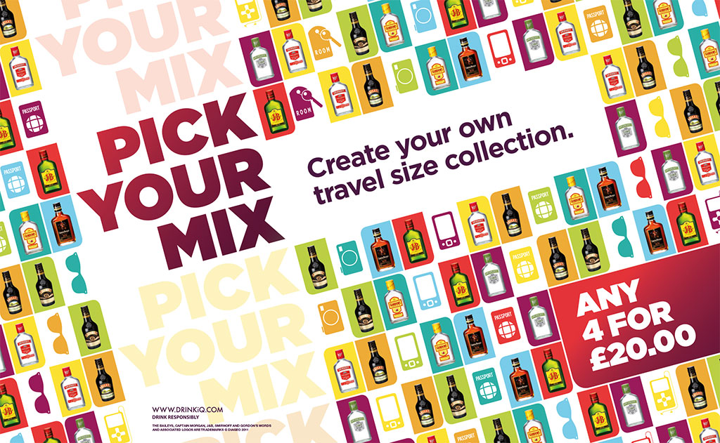 "Diageo – Global Travel ""Minis"" Promotion"