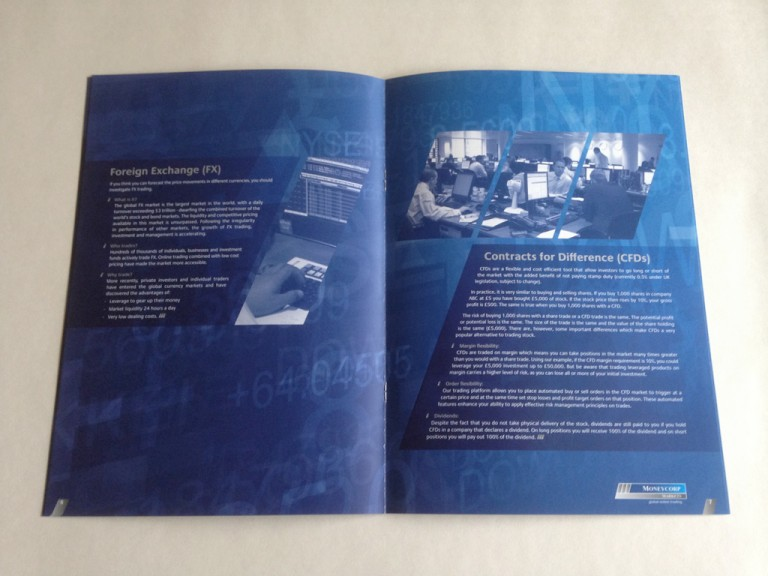 MoneyCorps – B2B brochure