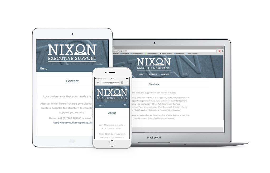 Nixon Executive Support Web Site